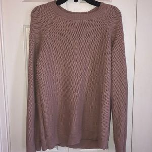 forever 21 dusty rose sweater